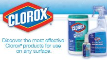 Clorox Cleaning and Sanitizing Products